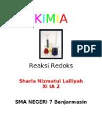 kimiA Reaksi Redoks