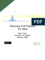 Discoverer and Bi Publisher