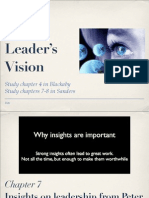 The Leaders Vision