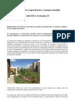 Jornadas Cooperativismo y Consumo Sostenible