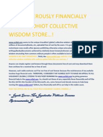 SCRIBD - HELP GENEROUSLY FINANCIALLY THE VASUDHIOT COLLECTIVE WISDOM STORE...!