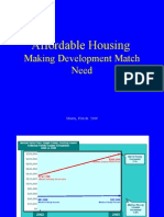 Affordable Housing Making Development Match Need