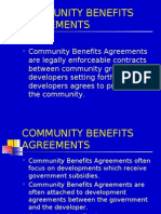 Community Benefits Agreements Corrected