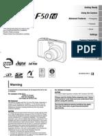 FX f50fd Manual En