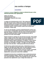 A Luta Cotidiana Contra o Tempo - Adilson de Oliveira - Ciência - física - Marcelo Gleiser