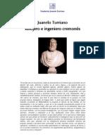 Juanelo Turriano Relojero e Ingeniero Cremones