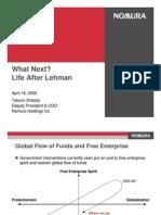 What Next Life After Lehman by Takumi Shibata