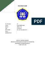 16 Jrk2a 1 Filter Pasif Satria k.i