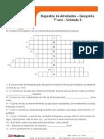 Ati Geo7 Uni3 Industrializacao e Urbanizacao Do Brasil