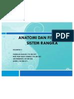 Anatomi Dan Fisiologi Rangka