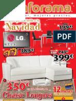 Catálogo Conforama Navidad 2011