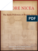 Before Nicea - Early Followers of Prophet Jesus