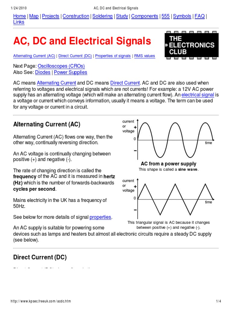 Rms Ac Direct Current Power Supply