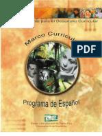 Marco Curricular del Programa de Español