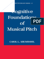 Cognitive Foundations of Musical Pitch