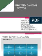 Pestel Analysis- Banking Sector
