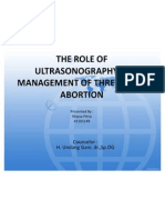 The Role of Ultrasound