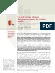 Les entreprises minières dans la gouvernance territoriale au Chili