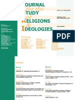 Journal for Studies of Religion and Ideology_no_2
