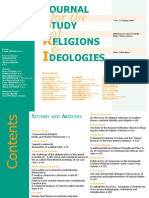 Journal for Studies of Religion and Ideology_nr_7