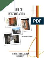 Taller de Restauracion
