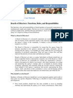 SomaliFamilyCare Board Roles and Responsibilities