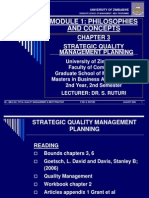 Tqm Chapter 3 - 2009 Strategic Quality Management Planning - Copy