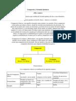 Compuestos y Fórmulas Químicas