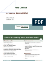 Gillem Tulloch - Creative Accounting (China Companies) 2011 11.01
