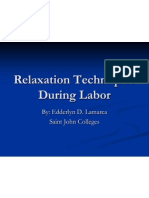 Relaxation Techniques During Labor