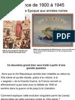 France 1900-1945 Intro
