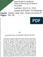 Al-Juwayni & al-Ghazali