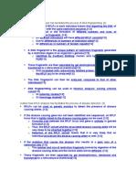 Essays on RFLP