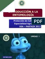 UNIDAD 1  Entomología