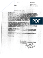 A.Q Khan Letter
