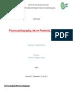Fonocardiografía, Potencial Nervioso y Flujo Sanguíneo