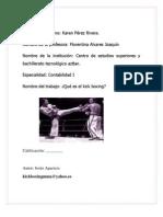 Tarea Kick Boxing
