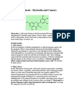 Phytochemical Myricetin and cancers