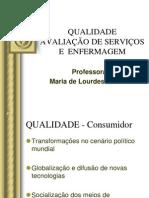 GESTÃO DA QUALIDADE 2012
