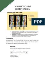 Parametros de Certificacion