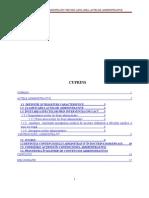 REFERAT Contenciosul Administrativ Privind Anularea Actelor Administrative