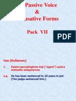 7-Passive Voice & Causative Form