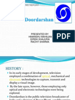 Doordarshan Seminar Report