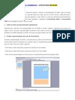 Dicas para o PowerPoint – Lista de Dicas Resumida