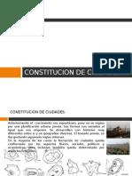 Constitucion de Ciudades