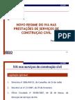 AICCOPN - IVA nas Operações Imobiliárias