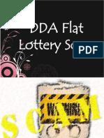 DDA Flat Lottery Scam