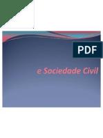 Políticas Sociais, Estado e Sociedade Civil