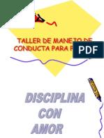 Taller de Manejo de Conducta Para Padres[1]