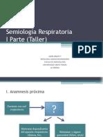 Semiología Respiratoria